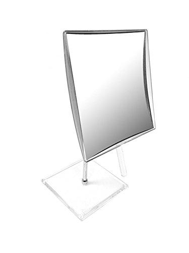 Miroir sur pied carré acrylique grossissant x5 Novex