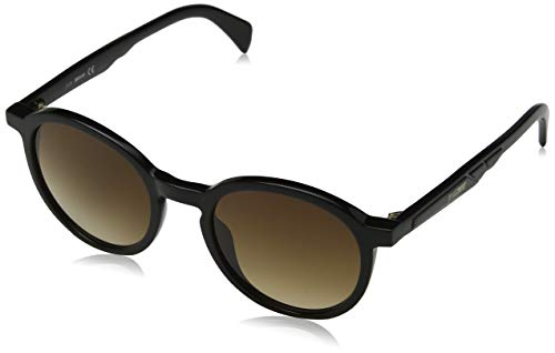 Just Cavalli JC838S Gafas de sol, Negro (Shiny Black/Gradient Brown), 51.0 Unisex Adulto