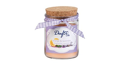 Orange et Lavande Parfumée Bougie Pot en verre Cuisine