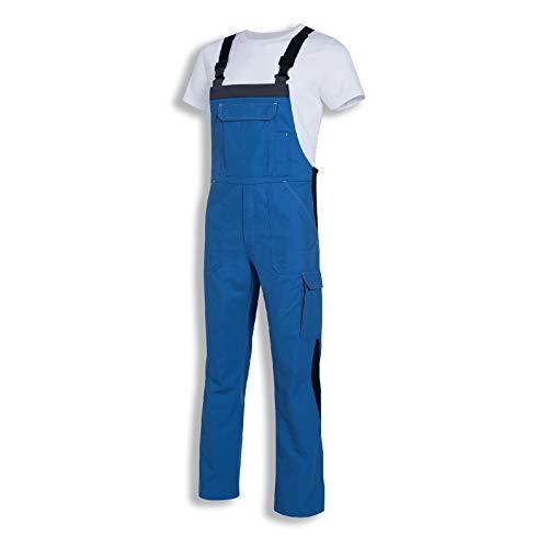 Uvex Perfect 8925 Herren-Arbeitshose - Blaue Männer-Latzhose 64/66