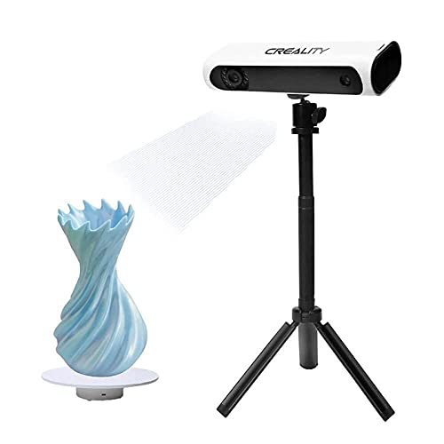 CR-Scan 01 Creality 3D Scanner Upgraded Combo, Quick Scan, Automatic Identification Repair, Handheld/Turntable Modes, 0.1mm Accuracy