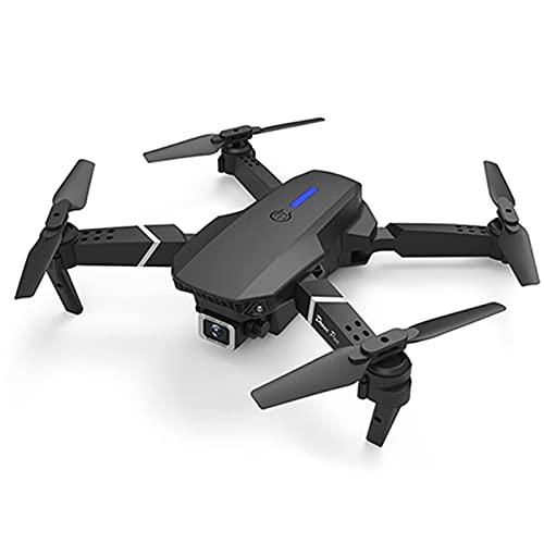 JJDSN Mini Drone RC Pieghevole con Doppia Fotocamera per Adulti e Bambini, con Fotocamera HD in modalità 4K, Mantenimento dell altitudine, Drone quadricottero WiFi FPV RC