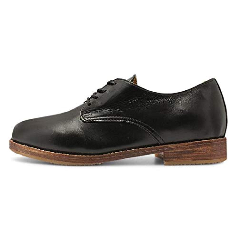 レースアップシューズ 革 オックスフォードシューズ レディース 本革 レディースシューズ 靴 歩きやすい 痛くない カジュアルシューズ 黒 白 ブラウン