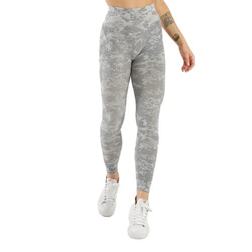 QTJY Pantalones de Yoga sin Costuras de Camuflaje Push Leggings Altos Pantalones de Yoga de Fitness para Mujer Pantalones de Entrenamiento de Celulitis de Cintura Alta D S