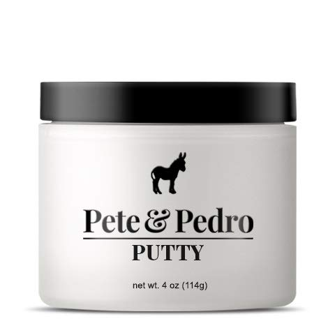 Pete and Pedro Putty XL - Hair Putty for Men with Strong Hold and Matte Finish {Featured on Shark Tank}