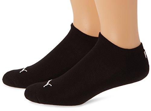 Puma Invisible 1/2 Cush. 2P Chaussettes de Sport, Noir (Black), FR: 39-42 (Taille Fabricant: 39/42) (Lot de 2) Homme