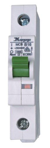 Kopp Leitungsschutzschalter (MCB), 1-polig 16A 10kA B