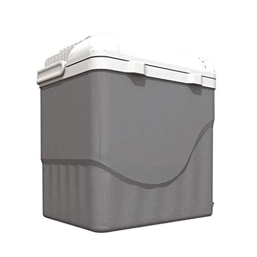 Lyn Elektrische koelbox, 28 liter, draagbare koelkast, kleine high-performance auto-koelbox, 12 V elektrische camping koelbox