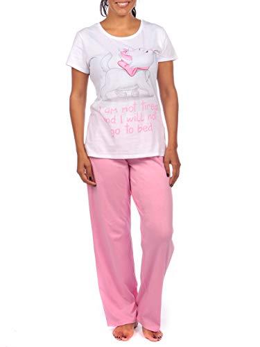 Disney Damen Aristocats Schlafanzug Rosa Large