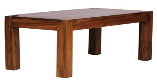 Wohnling WL1.211 Table de Salon en Bois de sheesham Massif 110 x 60 cm