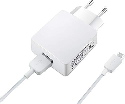 HUAWEI 55030254 Netzteil mit 5 V und 2 A Ausgangsleistung, Micro-USB Daten-/ Ladekabel Weiß - 6