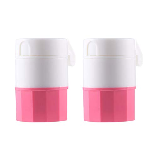 SUPVOX 2 Piezas Cortador de Pastillas Trituradora Divisor Dispensador de Pastillas Medicina