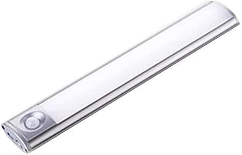 USB Recargable Luz Blanca Cuerpo Humano Inducción Gabinete Luz Automática Infrarrojos Inducción Armario Luz Pasarela baño Lámpara Ahorro de Energía