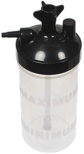 Salter Labs HIGH FLOW Oxygen Bubbler Bottle - Humidity for Oxygen...