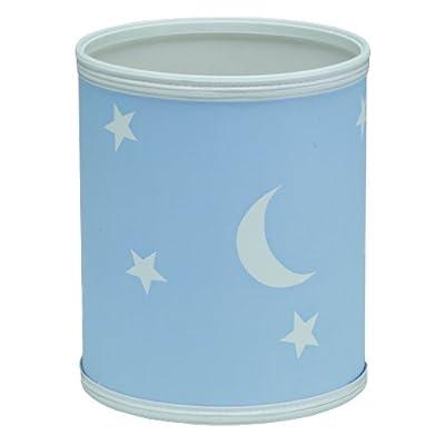 Redmon For Kids Stars And Moons Wastebasket