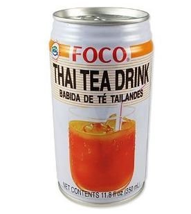 Foco Thai Tea Drink 11.8oz (Pack of 6) by FOCO