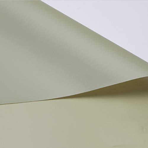 Zhou-WD Color sólido del Papel de Embalaje, Papel Decorativo del rectángulo 20PCS Hotel Cake Shop Tienda de Juguetes Material Decorativo Ramo de la Caja de Regalo Libros Material de envasado Origami