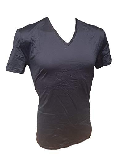 Grigio Perla Camiseta interior de manga corta para hombre co