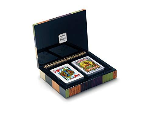 Cayro - Estuche de baraja de Cartas Española y Poker - Juego Tradicional - Juego de Mesa - Desarrollo de Habilidades cognitivas y lógico matemáticas - Juego de Mesa (2620)