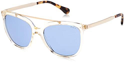 Polo Ralph Lauren Damen 0PH4135 Sonnenbrille, Grau (Grey Pinot), 54
