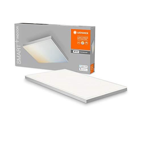 LEDVANCE Smarte LED Deckenleuchte, Panel für Innen mit WiFi Technologie, Lichtfarbe änderbar (3000K-6500K), 600mm x 300mm, Kompatibel mit Google und Alexa Voice Control, SMART+ WIFI PLANON FRAMELESS