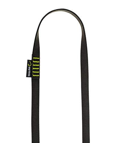 Edelrid Unisex– Erwachsene Schlinge Tubular Sling 16mm, Slate-night, 30 cm
