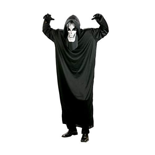 Ciao-Costume Black Horror, taglia unica adulto, nero, 62037