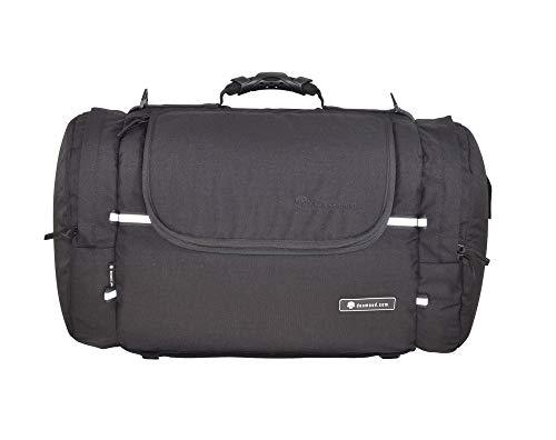 DEEMEED Motorcycle luggage bag, made of waterproof cordura, 51 liters capacity + rain cover included
