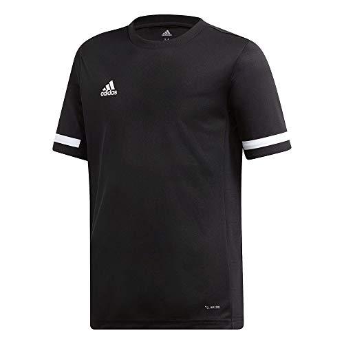 adidas Jungen T19 Ss Jsyyb T-shirt, schwarz(black/White), XXL(15-16 Jahre)