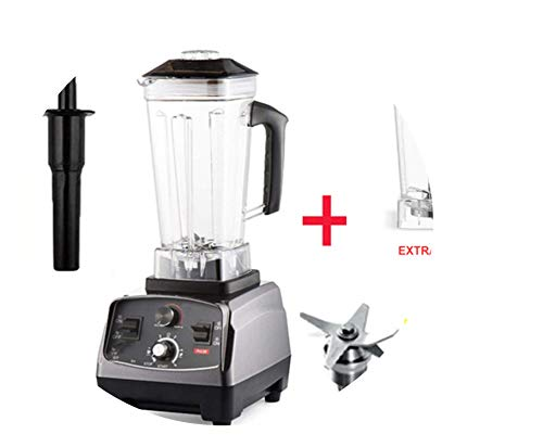 For Sale! 3Hp 2200W Heavy Duty Commercial Grade Automatic Timer Blender Mixer Juicer Fruit Food Proc...