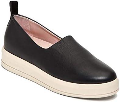 Taryn Rose Women's Chiara Slip-On Sneaker, Black Napa/Suede, 8 M