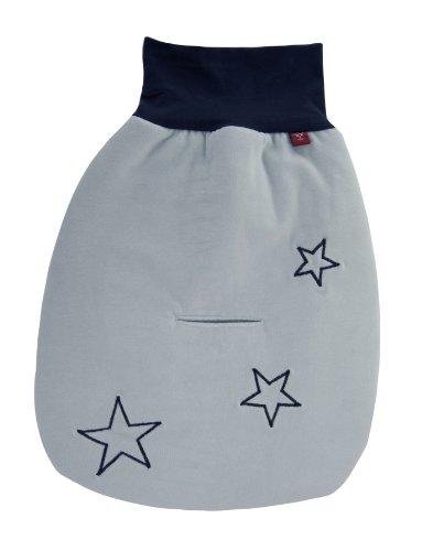 Kaiser 65050029 Strampelsäckchen STAR, auch in Babyschale verwendbar, 40 x 45 cm, hellblau