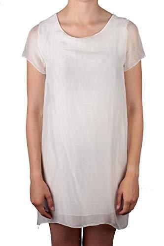 Zabaione leichtes Kleid Odelia in weiß Größe S/M