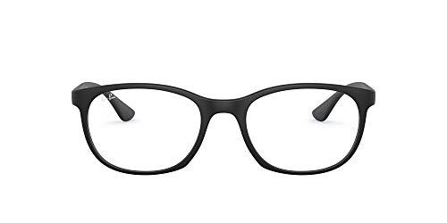 Ray-Ban 0rx7183 Gafas, Sand Black, 53 Unisex