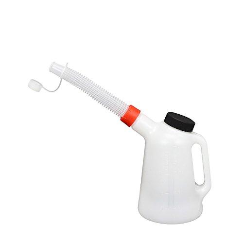 Ölkanne 1 Liter Füllkanne Wasser Öl Wischwasser Messkanne Einfüllkanne Gieser
