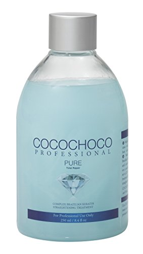Cocochoco Professional Pure Total Repair Brazilian Keratin Hair Treatment, 250 ml, CC_PURE250