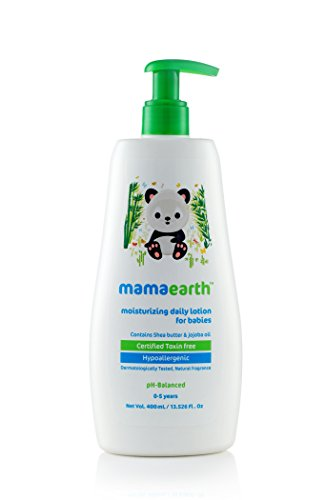 Mamaearth Daily Moisturizing Natural Baby Lotion (400 ml)