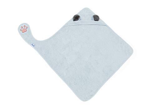 Serviette de bain à capuche pour votre bébé/serviette de bain douillette avec la « pattes »