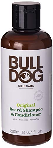 Bulldog Original 2-in-1 Beard Shampoo and Conditioner, 200ml
