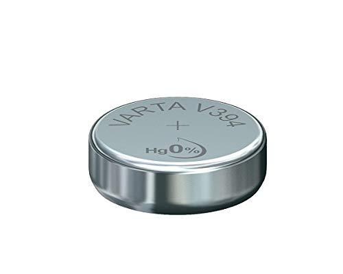 Varta 38510 SR45 (V394) - Piles Bout onoxyde de Zinc Argent 1 55 V