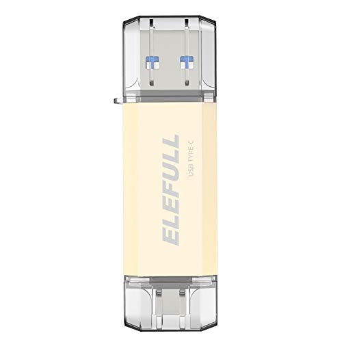 USB Type C Flash Drive 256GB 128GB 64GB 32GB for Android Smart Phones Computer Laptop USB-C 3.0 High Speed Copay Photos Videos Music etc. (128GB)