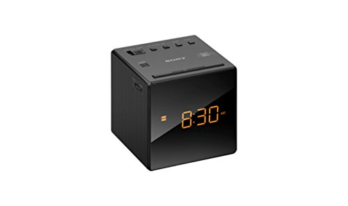Sony ICF-C1 - Clock radio - 100 mW -CLOCK RADIO BLK NON CD