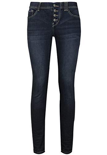 Sublevel Damen Jeans mit Push-up Effekt - Basic Skinny Dark-Blue S