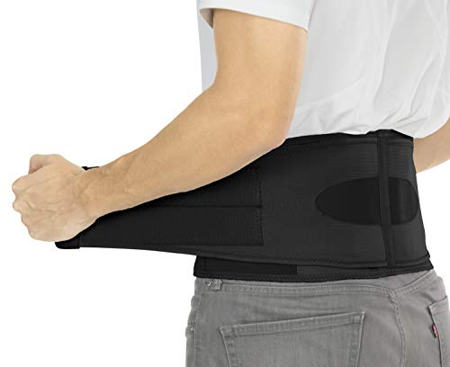 Vive Lower Back Brace - Support for Chronic Pain, Sciatica, Spasms, Nerve...