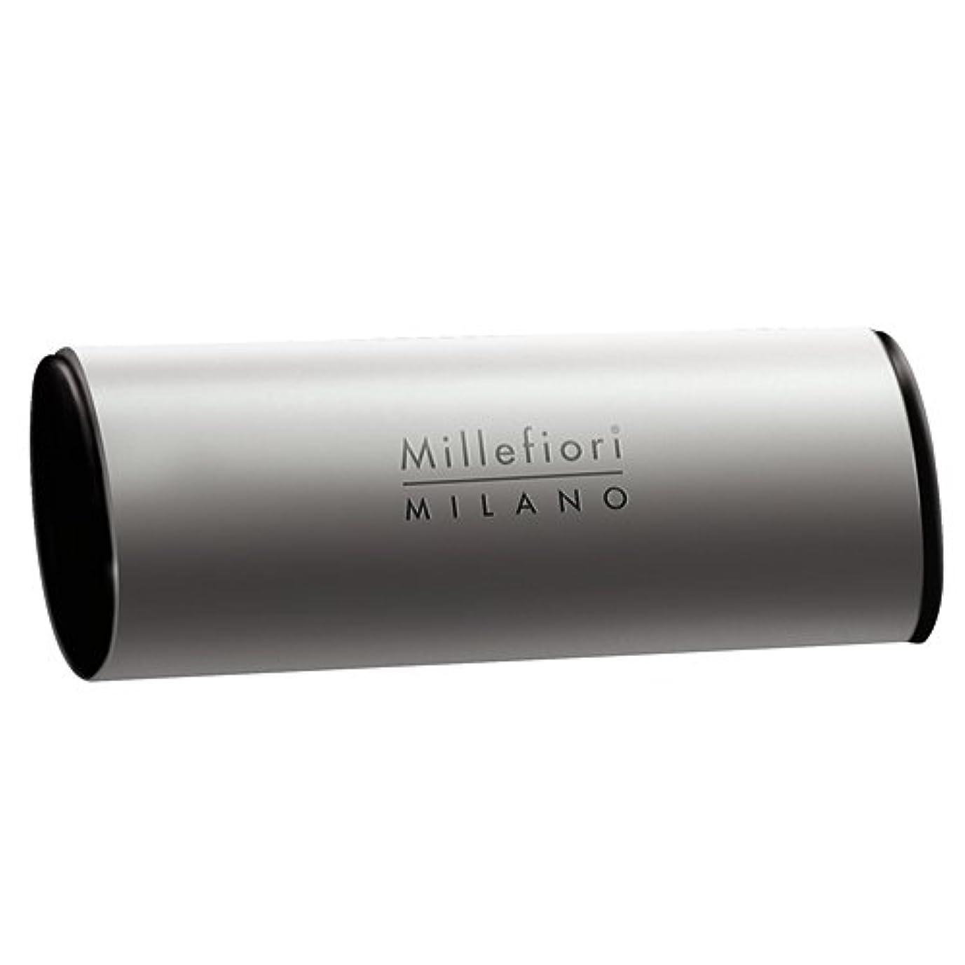 型デザート介入するMillefiori カーエアーフレッシュナー シルバー シルバースピリット CDIF-A-008