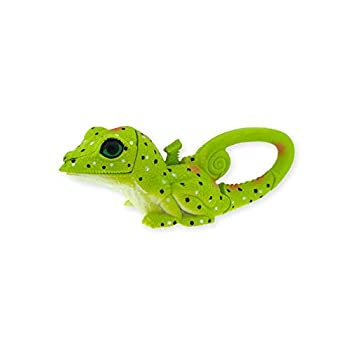 Sun Company Lifelight Animal Carabiner Flashlight   Mini Animal Keychain Flash Lights   for Kids Nurses Camping  Green Lizard