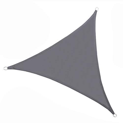 Braveheat - Toldo para toldo de vela, resistente a los rayos UV para exteriores, cobertor de toldo de cobertura, cobertor de techo para invernadero o cochera, Gris oscuro, 3.6m*3.6m*3.6m
