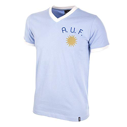 COPA Football - Camiseta Retro Uruguay años 1970 (XXL)
