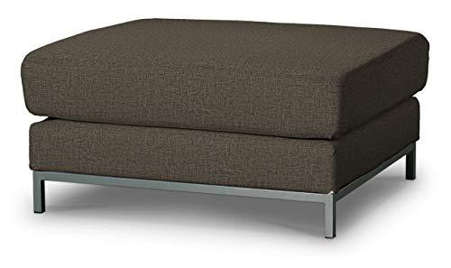 Dekoria Kramfors Hockerbezug Sofahusse passend für IKEA Modell Kramfors beige-braun