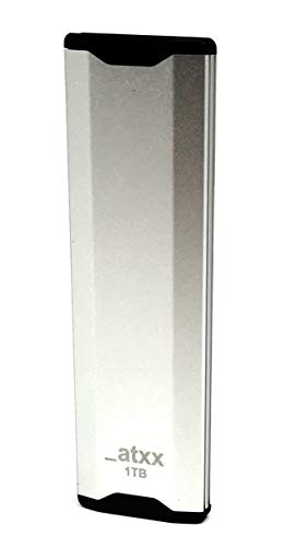 ATXX Externe SSD Festplatte 1 TB USB C-Type 1050/950 R/W